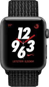 [Nike.com] Apple Watch Nike+ Series 3 (GPS + Cellular) 42 mm (Schwarz/Pure Platinum)