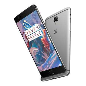 ONEPLUS 3 5.5inch FHD AMOLED  LTE SD 820 Smartphone 64-Bit Quad Core 6GB RAM 64GB ROM 16.0MP Dash Charge Touch ID NFC - Graphite