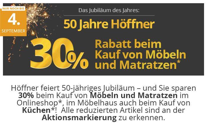 Wunderbar Höffner 30% Auf Möbel Und Matratzen