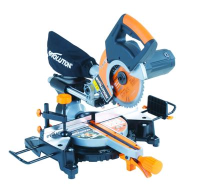 Werkzeuge im Sale bei Screwfix, z.B. Evolution 210 mm Mehrzweck Kapp- und Gehrungssäge TCT W