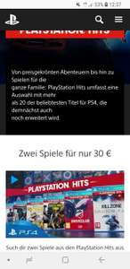 Playstation 4 The Last of us + Uncharted 4 für 30€