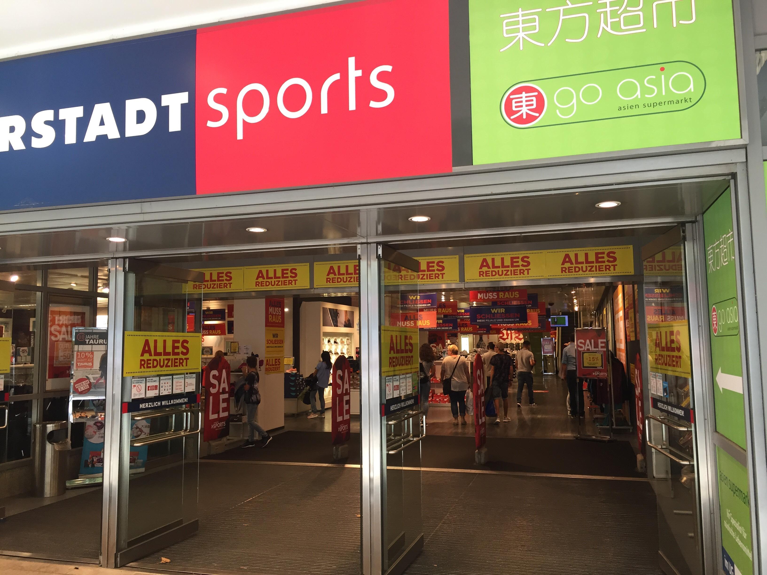 15% auf (fast) alles bei Karstadt Sports in Stuttgart