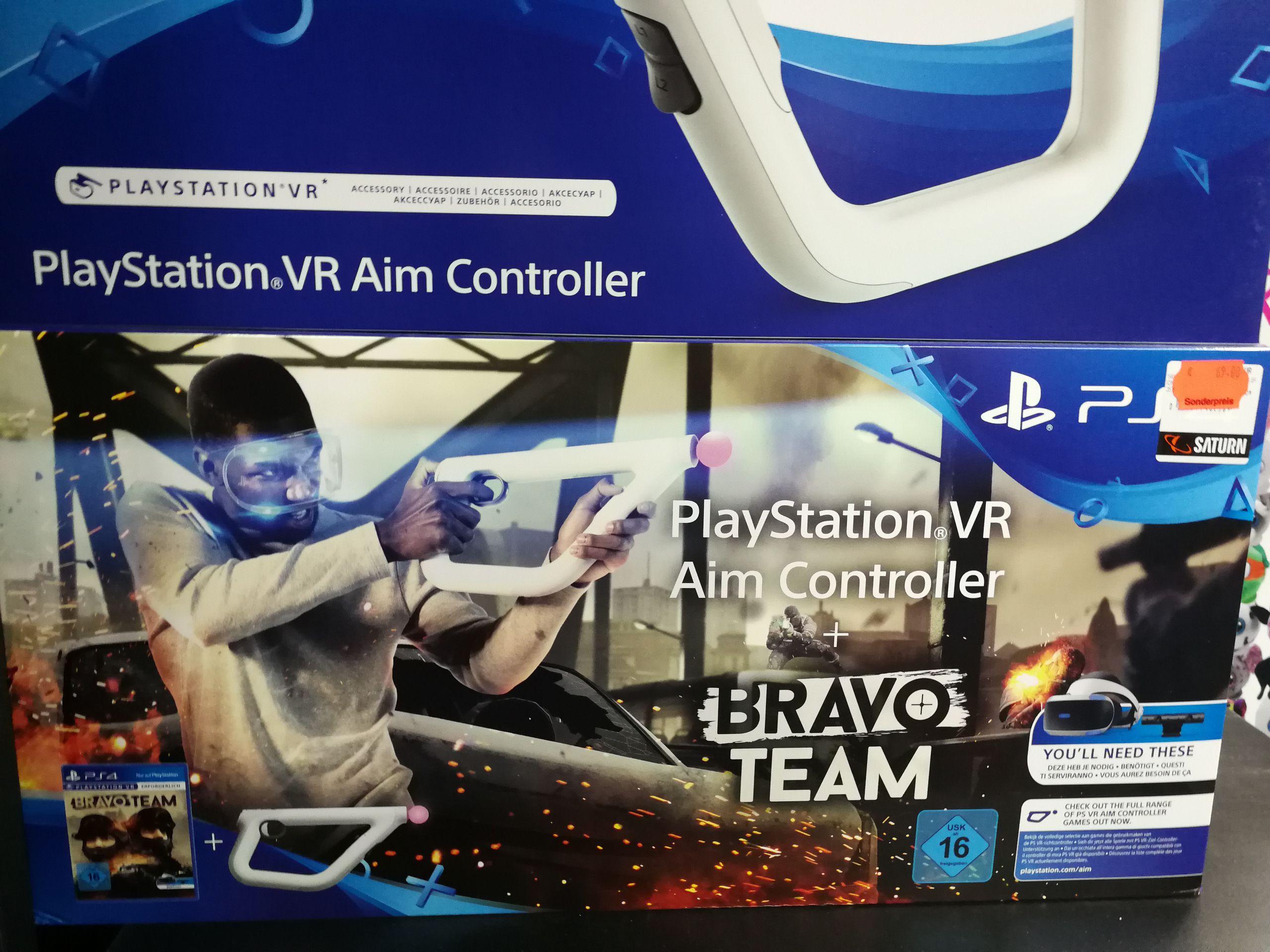[Lokal Gelsenkirchen Buer] Sony Aim Controller - Kabellos VR-Steuerung + Bravo Team
