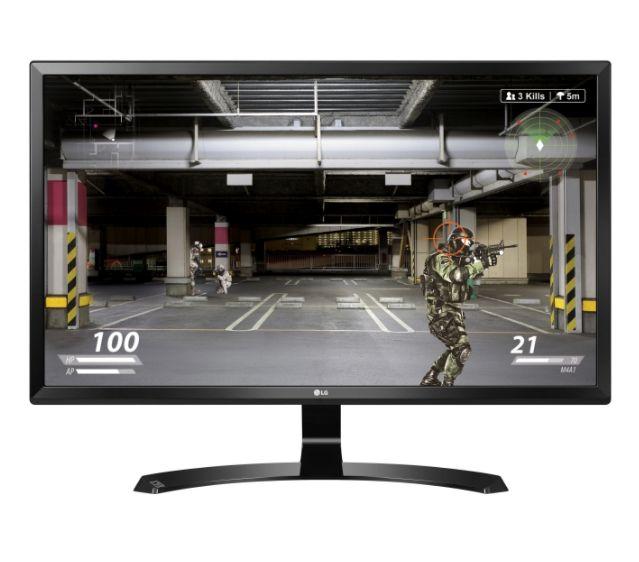 LG 27UD58-B - 69 cm (27 Zoll) Monitor, 4K UHD, IPS-Panel, 8bit + FRC, 99% sRGB, Blaulichtfilter, AMD FreeSync, 2x HDMI, 1x DP, VESA