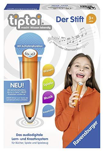 Der neue tiptoi Stift von Ravensburger mit Aufnahmefunktion [verfügbar ab morgen - Amazon Prime]
