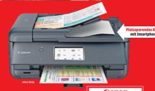 (LOKAL Raum Stuttgart ) Canon Pixma TR8550 All-in-One Farbtintenstrahl-Multifunktionsgerät (Drucker, Scanner, Kopierer, Fax, USB, WLAN, LAN, Apple AirPrint)