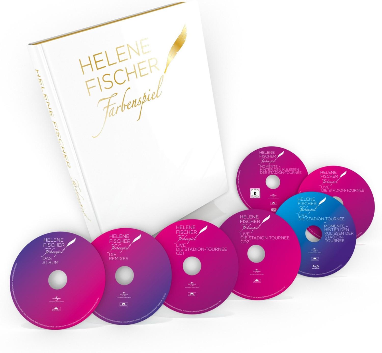 Entertainment Weekend Deals: z.B. Helene Fischer - Farbenspiel (Limitierter Bildband, 4 CDs + 2 DVDs + Blu-ray) oder Detroit: Become Human & Gran Turismo: Sport (PS4)