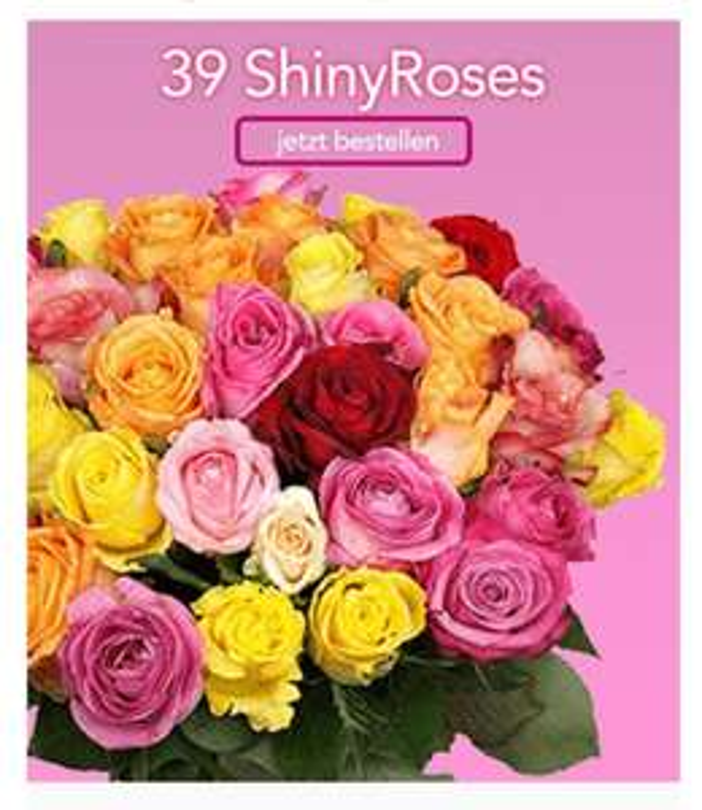 34 Shiny Roses