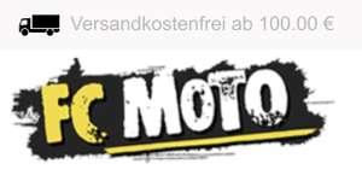 10% auf alles bei FC Moto ||| 20% auf uvp !