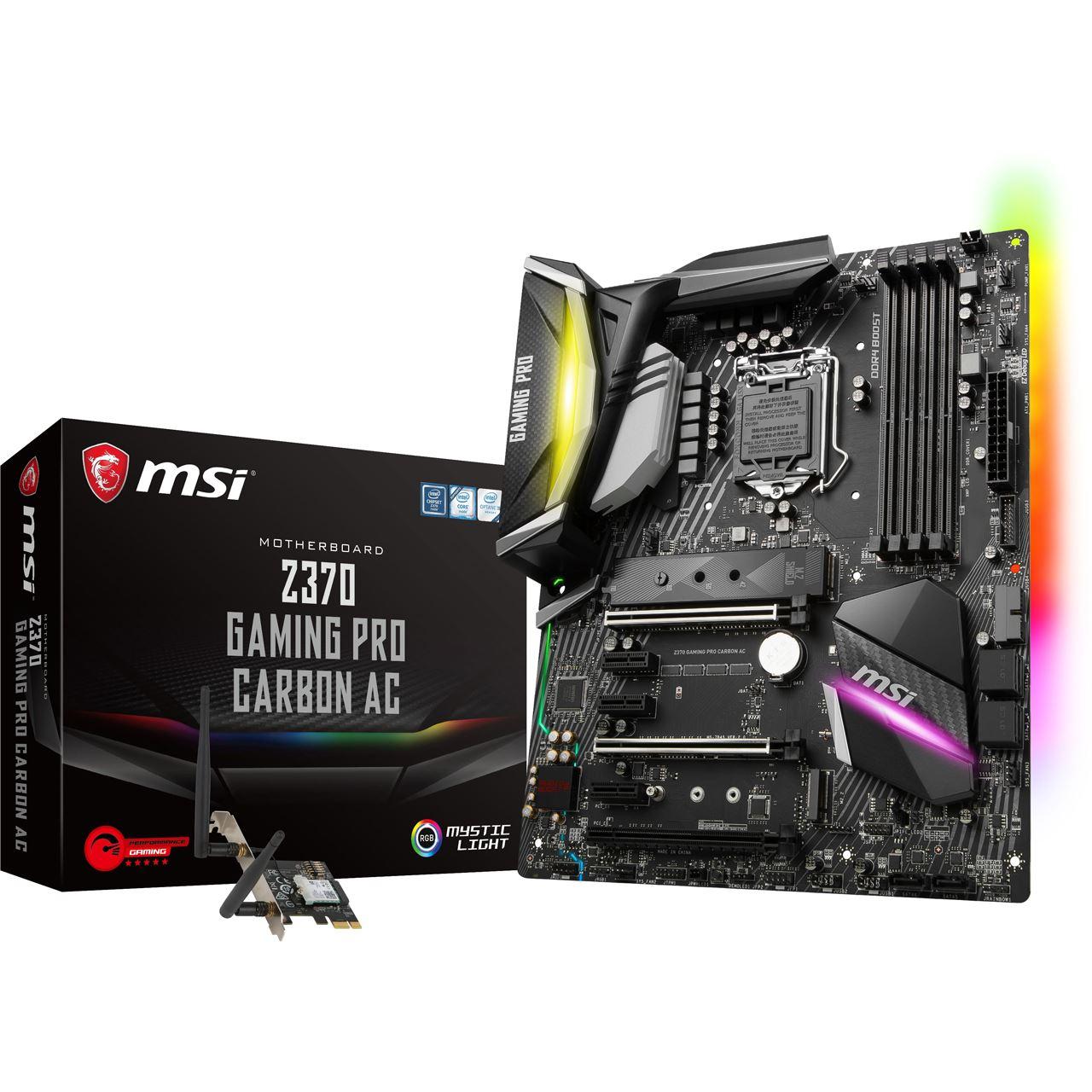 [Vorübergehend ausverkauft] MSI Z370 Gaming Pro Carbon AC ATX | -19%