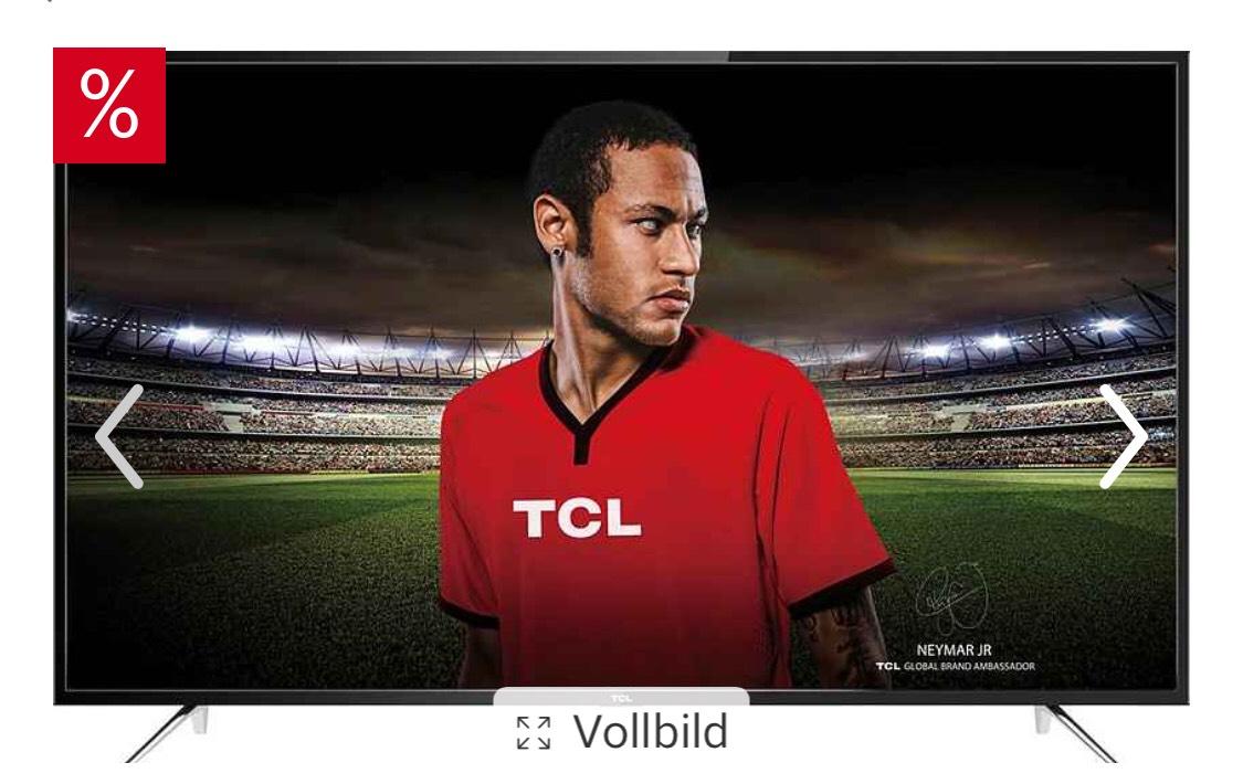 TCL U65P6066 LED-Fernseher (65 Zoll, 4K Ultra HD, Smart-TV)
