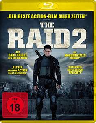 The Raid 2 - Ungeschnittene Fassung (Blu-ray) für 4,99€ (Amazon & Müller)