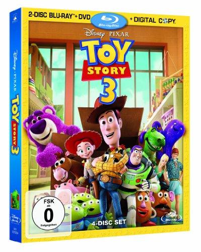 [Amazon Prime] Toy Story 3 (2-Disc Blu-ray + DVD + Digital Copy)