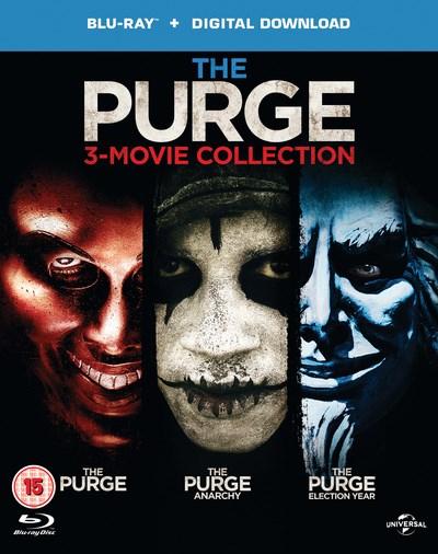 The Purge Filme 1-3 auf Blu-ray für 8,10€ (Zoom)