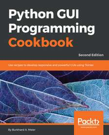 Python GUI Programming Cookbook - Second Edition  (e-book)