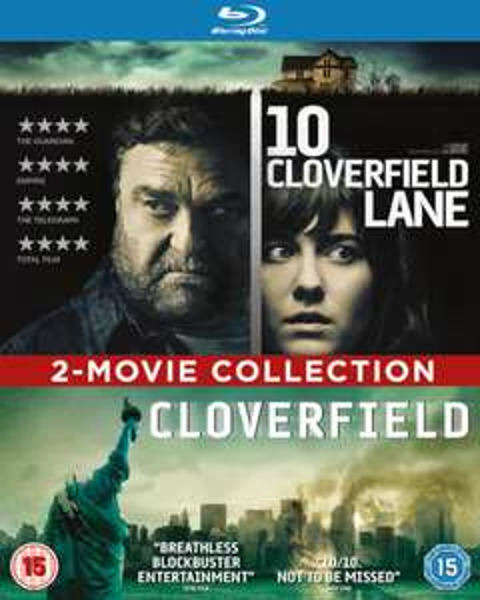 10 Cloverfield Lane/Cloverfield 2-Movie Collection (Blu-ray) für 7€ (Zoom.co.uk)