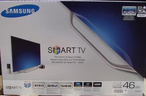 Samsung UE46ES8090SXZG - 116 cm (46 Zoll) Full HD für 1599Euro (Idealo 1748,99Euro)
