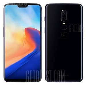 OnePlus 6 6GB/64GB Mirror Black Internationale Version [Gearbest]