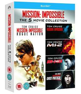 Mission: Impossible Collection 1-5 (Blu-ray) für 9,14€ (Zoom.co.uk)