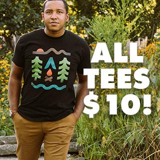 Threadless Shirts 10€ anstatt 25€ | -50% auf alles andere