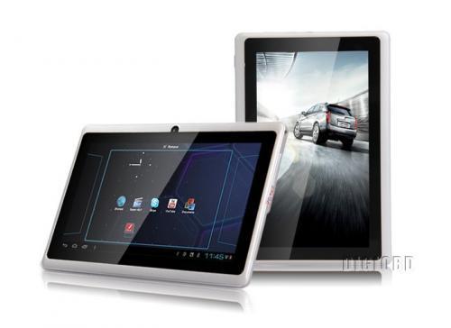 "Android 4.0 7"" Tablet, Allwinner A13, 1.0 GHz, 512 MB DDR3, 4 GB Flash + microSD Slot für 39,93€"