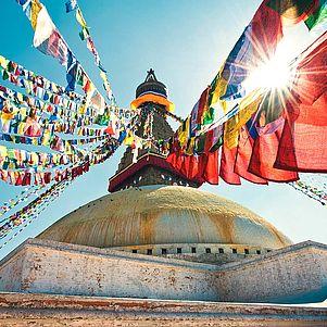 Flüge: Nepal [November - Mai] - Hin- und Rückflug mit Oman Air von Frankfurt nach Kathmandu ab nur 422€ inkl. Gepäck