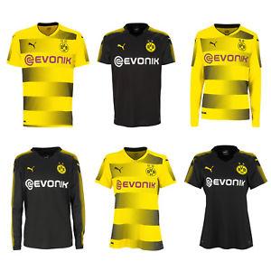 Puma BVB Borussia Dortmund für Herren, Damen und Kinder Heim Auswärts Trikot 2017/2018 für 19,99€ [Ebay WOW]