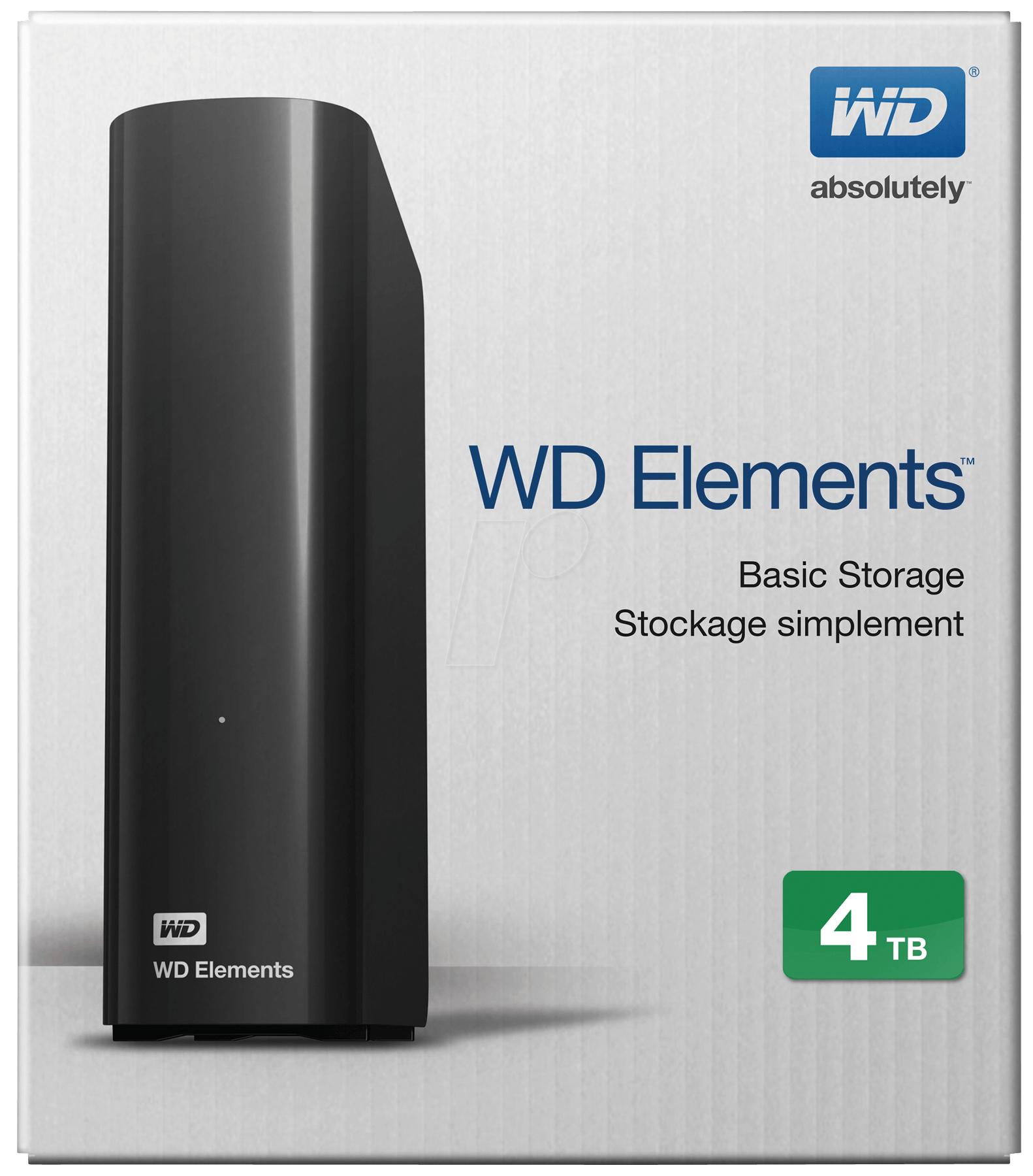 """[MediaMarkt] Lokal Berlin/BB nur am 04.09. WD Elements Desktop 3.0 4TB 3,5"""" externe Festplatte für 79,-€"""