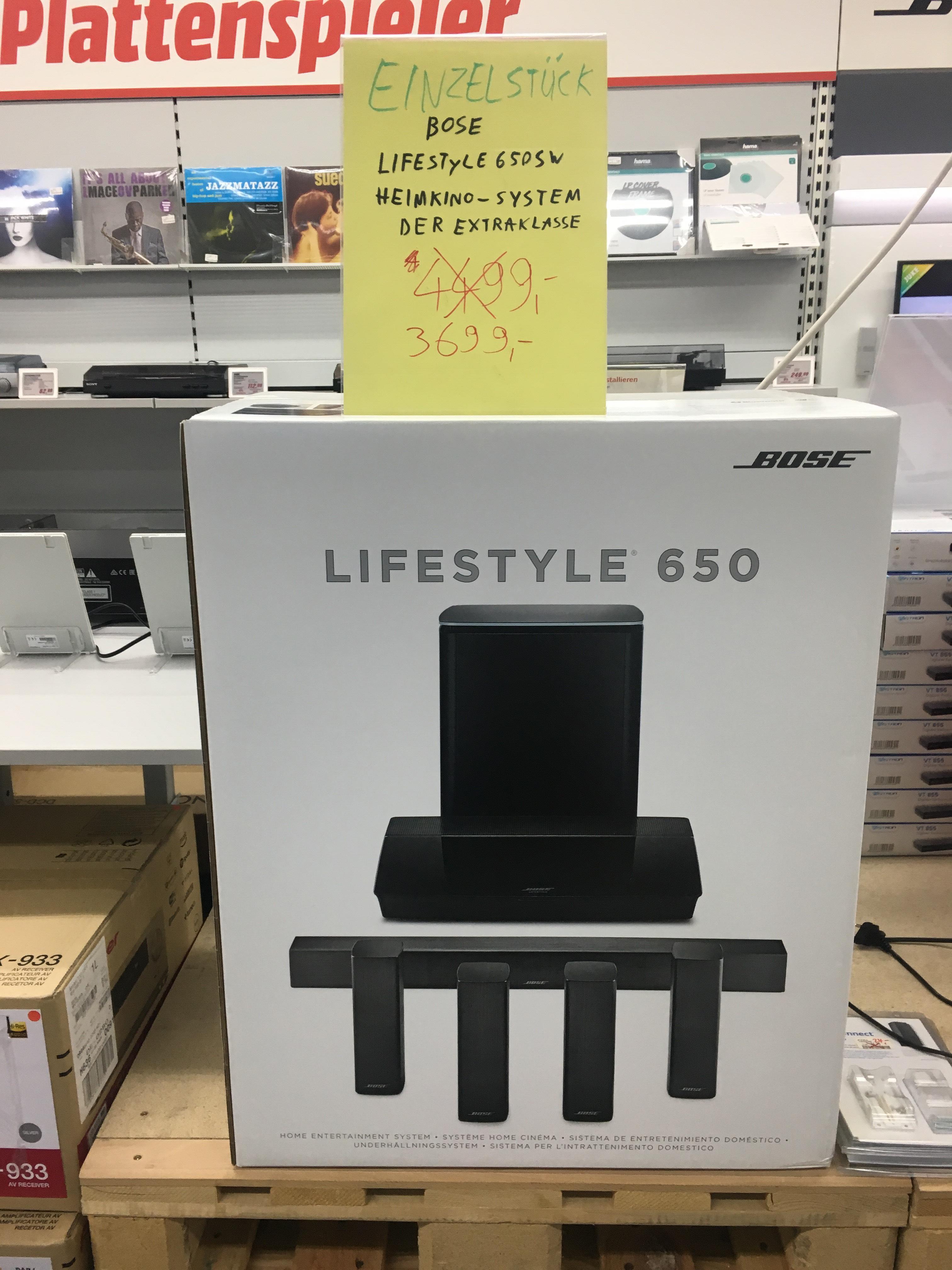 [München] Bose Lifestyle 650 MediaMarkt