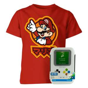 NINTENDO BACK TO SCHOOL BUNDLE (T-Shirt + Brotdose] für 13,98 € @ Sowaswillichauch