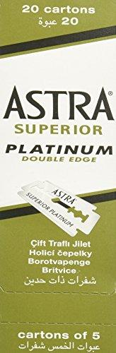 ASTRA Platinum Rasierklingen 100 Stück inkl. Versand
