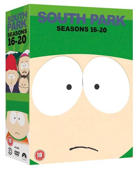 [zoom.co.uk] South Park: Season 16-20 (Box Set) [DVD]