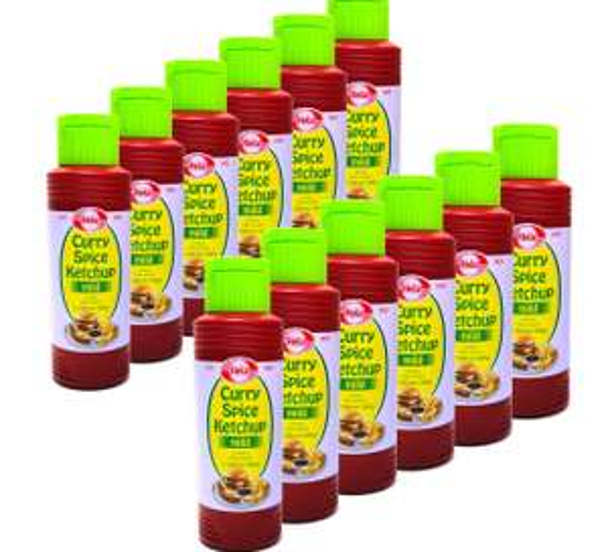 12x Hela Curry Gewürz Ketchup delikat 300ml [EU Ware] für 8,88€