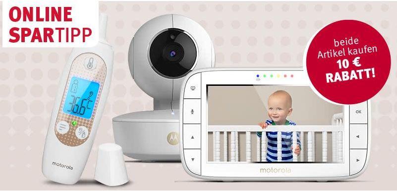 Rossmann_Online-Spartipp: Motorola Babyphone MBP55 + Motorola In-Ear Thermometer