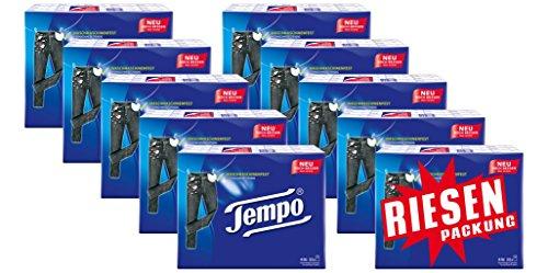 Der Winter naht - Tempo Taschentuch Tempo Standard Riesenpackung (10x30 Packungen á 10 Tücher) für 19,9€ oder für 18,91€ im Spar-Abo