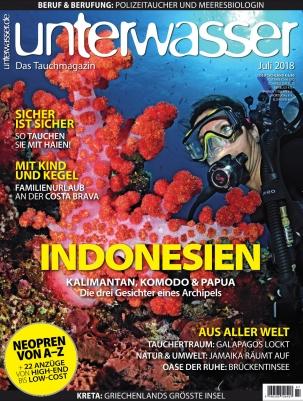 unterwasser Magazin Abo  - 1 Jahr (12 Ausgaben) für 82,60 € mit 80 € BestChoice-Universalgutschein