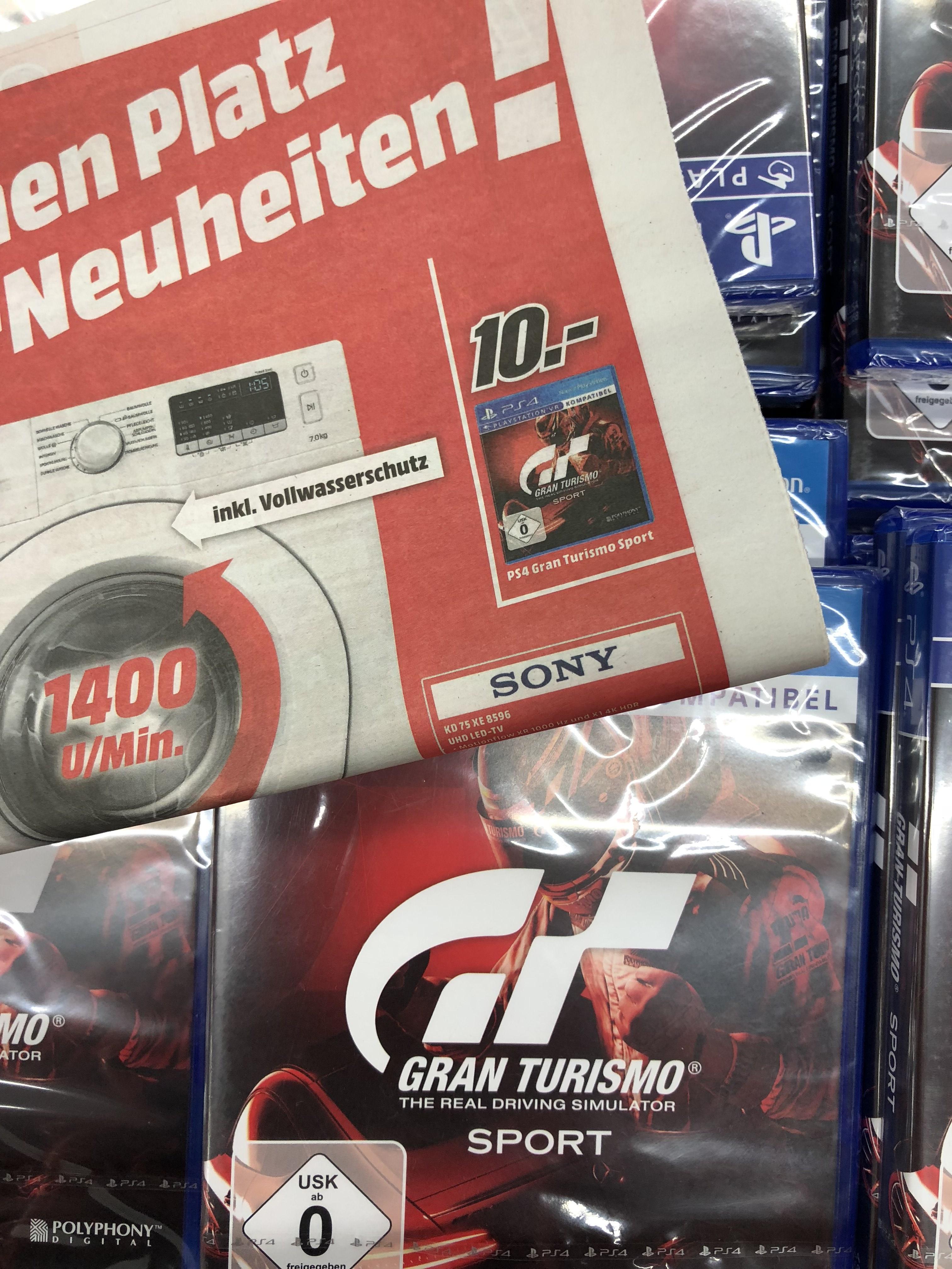 Gran Turismo Sport - [PlayStation 4] / Mediamarkt Neuss / Lokal