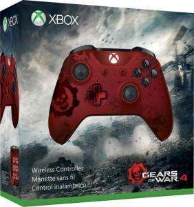 Xbox One S Wireless Controller Gears of War 4 Crimson Omen Limited Edition für 39€ versandkostenfrei (Media Markt)