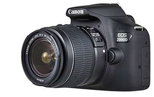 Canon EOS 2000D Kit mit EF-S 18-55 mm IS II F/3.5-5.6 für 333,51€ [Amazon.fr]