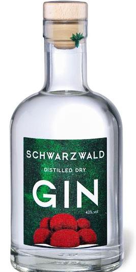 Schwarzwald Distilled Dry Gin 43% Vol | 0,5 Liter [Lidl ab 13.09.]