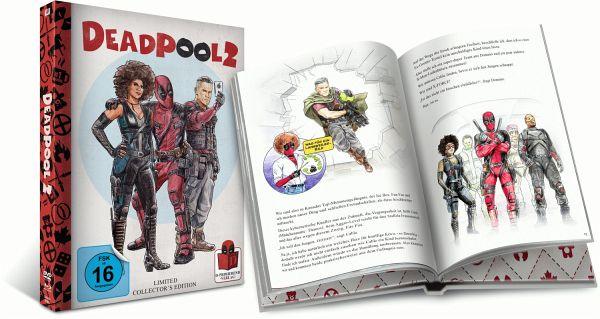 Deadpool 2 Extended Cut Limited Mediabook Edition (Blu-ray + Bonus-Disc + DVD) für 25,99€ (Bücher.de)