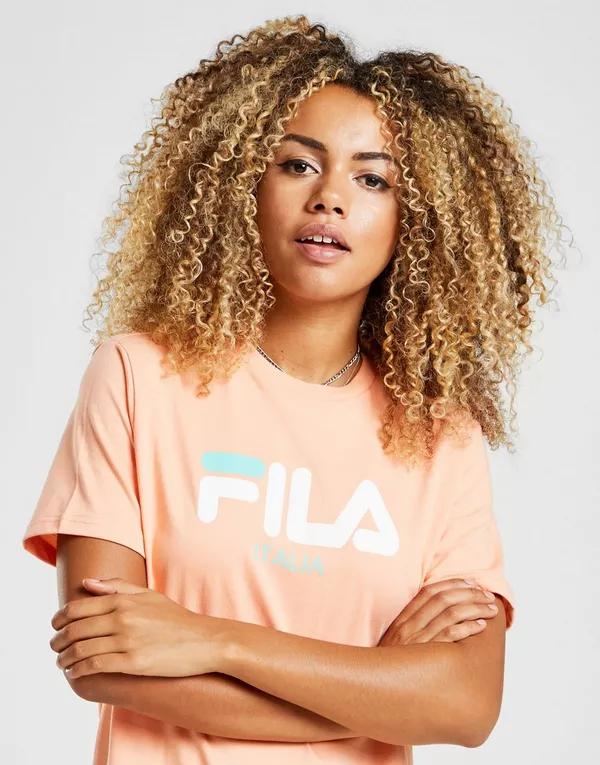 FILA-Sale bei JD Sports, z.B. Boyfriend Logo Shirt mit Logo