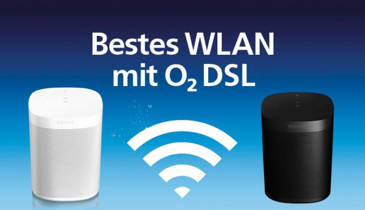 o2 DSL M (50 Mbit/s) für eff. 19,57€ / Monat inkl. Sonos One für 4,95€ Zuzahlung
