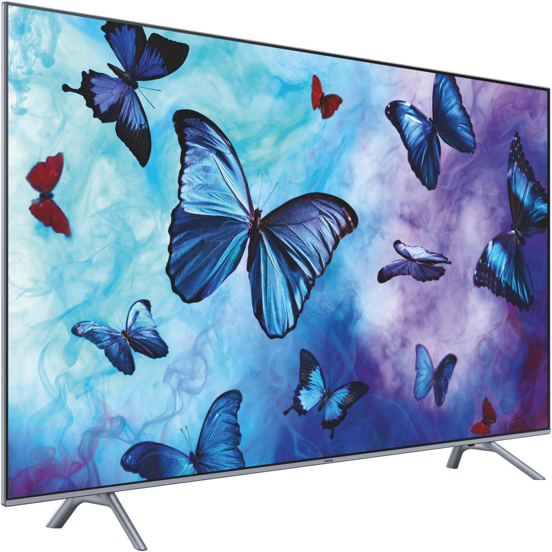 """Samsung GQ49Q6FN (49"""" Ultra HD, 10bit VA, 60Hz, Edge-LED, HDR10 & HLG, HDR1000, Triple Tuner, 4x HDMI 2.0, 2x USB 2.0, WLAN, Tizen 4.0)"""