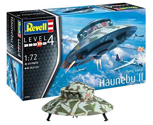 """Für kurze Zeit wieder da """"Revell 03903 Flying Saucer Haunebu Modellbausatz"""""""