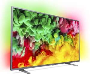 "Philips 65PUS6703 (65"" Ultra HD, VA, 8bit+FRC, 60Hz, Direct LED, 350cd/m², HDR10 & HLG, Triple Tuner, 1x HDMI 2.0, 2x HDMI 1.4, 2x USB 2.0, WLAN, Saphi OS)"