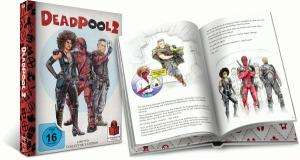Deadpool 2 Extended Cut Limited Mediabook Edition (Blu-ray + Bonus-Disc + DVD) für 21,59​€ (Thalia)
