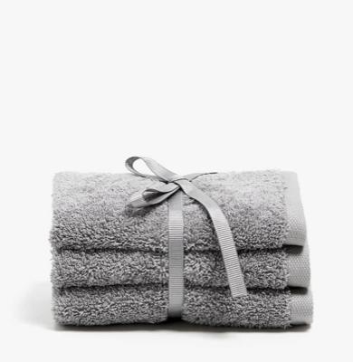 Kostenloser Versand + Sale bei Zara Home, z.B. 3er-Pack Gästehandtücher aus Baumwolle, 30x30 cm