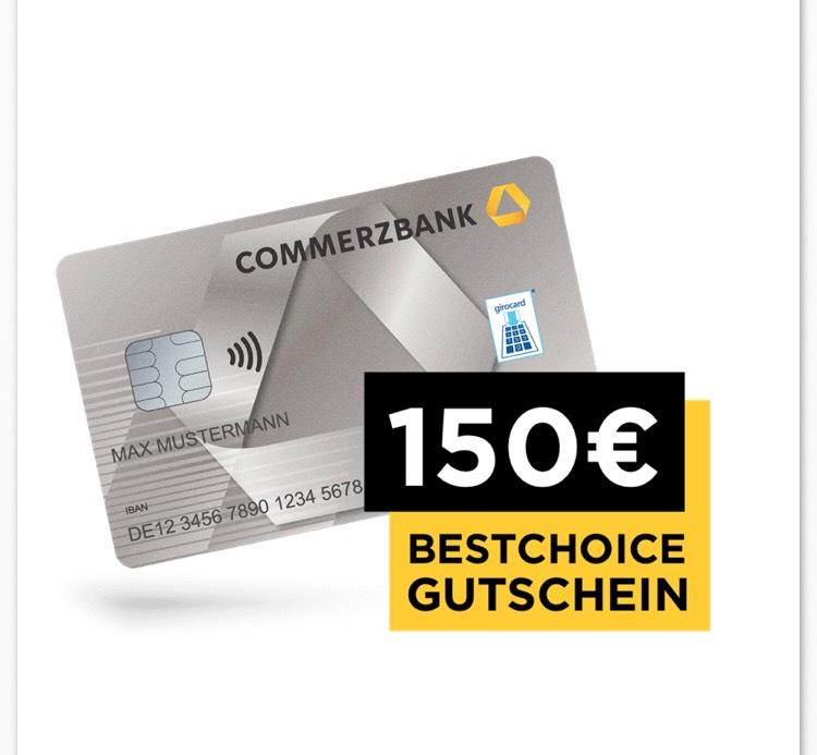Bis zu 250€ Prämie durch einen Kontowechsel zur Commerzbank