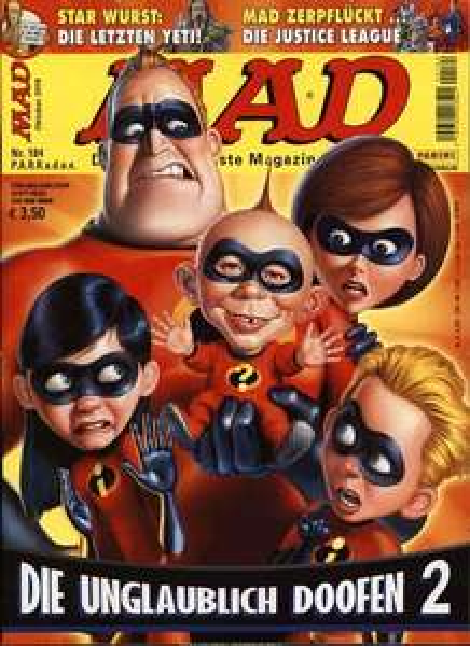 MAD Magazin Jahresabo (Geschenkabo) - ohne Kündigung